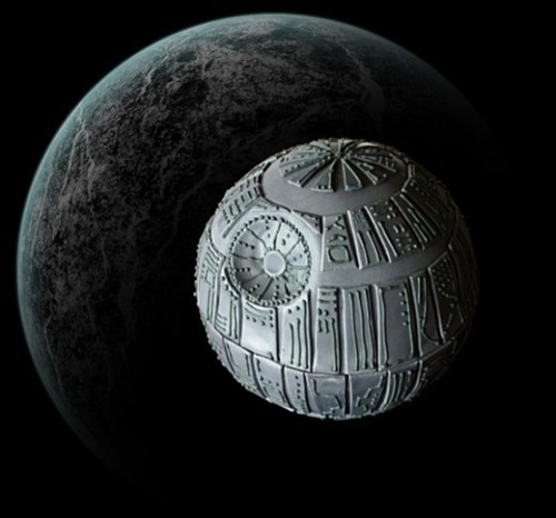 cake Death Star Fan Art movies star wars - 5901517312