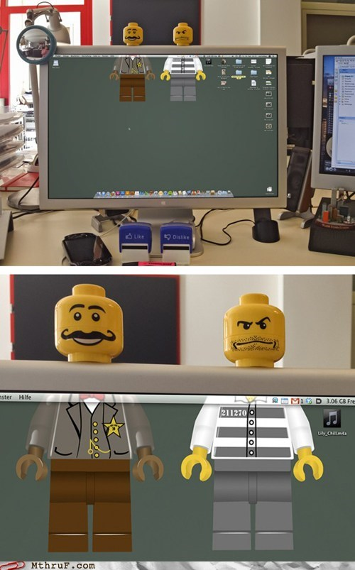 computer desktop facebook lego - 5901937920