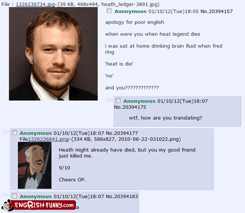4chan alfred engrish heath ledger miami heat - 5902015232