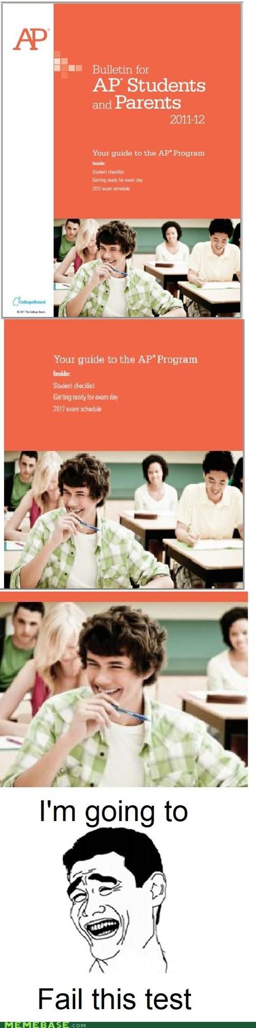 AP college collegeboard program Rage Comics students tests - 5902016256