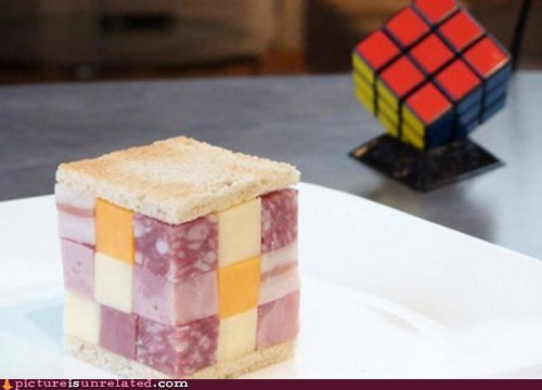 meat,rubix cube,toy,wtf