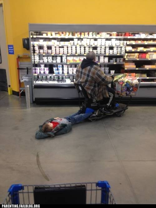 grocery store wal-mart cart yogurt - 5902119168