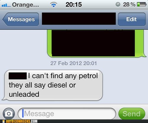 car diesel driving gas oil petrol unleaded