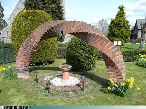 arch,garden,twist,yard