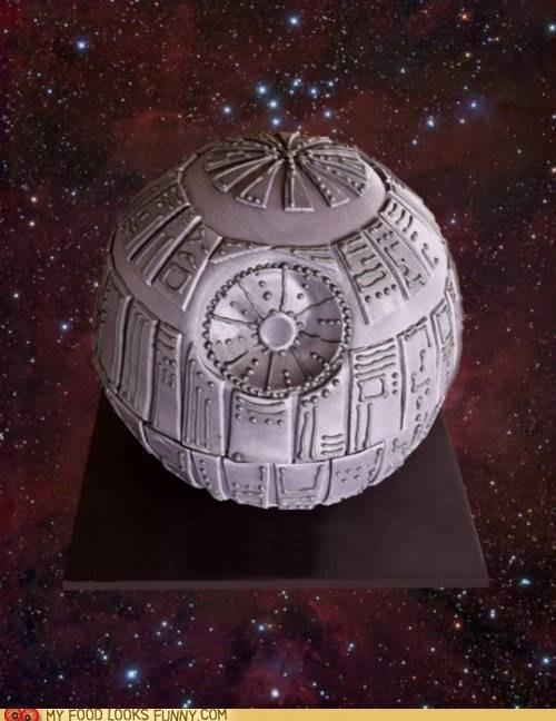 cake Death Star dessert frosting star wars - 5902286848