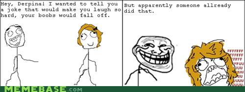 bewbees fu gal joke Rage Comics - 5902301696