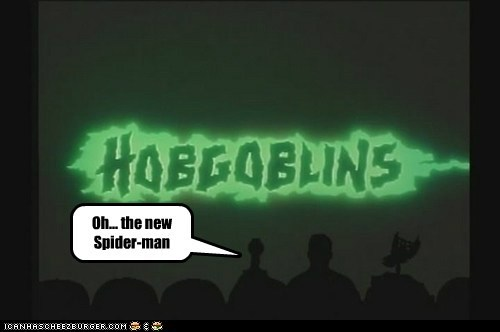 Oh... the new Spider-man