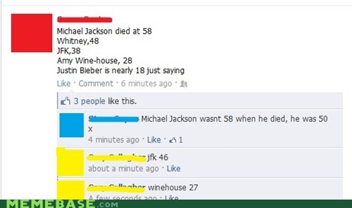 celeb,Death,facebook,FAIL,weird kid