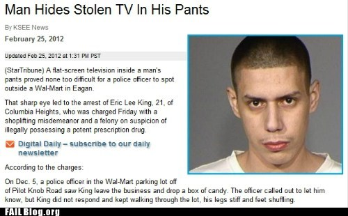 Probably bad News stupid criminals wtf - 5902448640