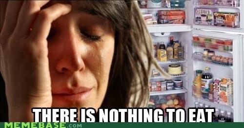 eating First World Problems food fridge full hunger - 5902504448