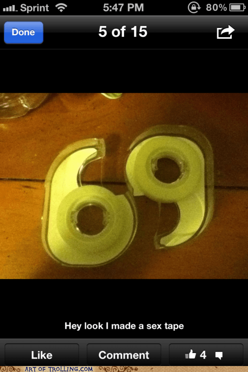 69 IRL tape that looks naughty - 5902569216