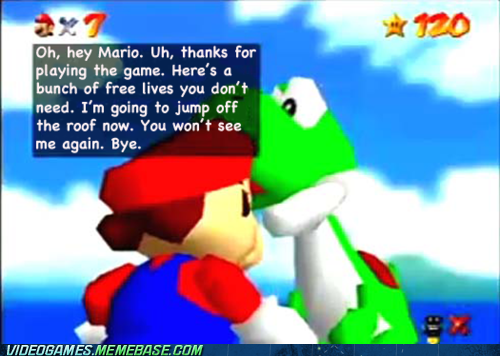 all the stars,mario,mario 64,triple jump,yoshi