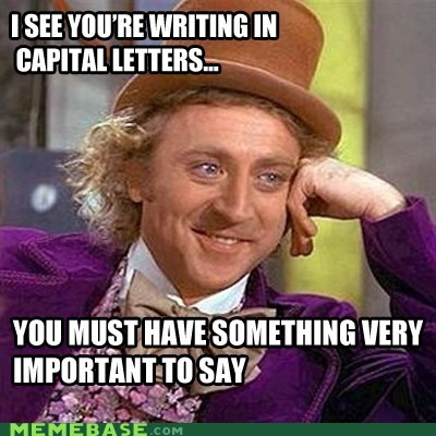 capitals,importance,Memes,Willy Wonka