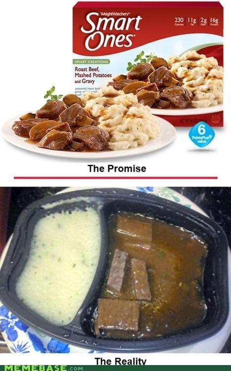 disgusting food How People View Me roast beef smart ones - 5902728192