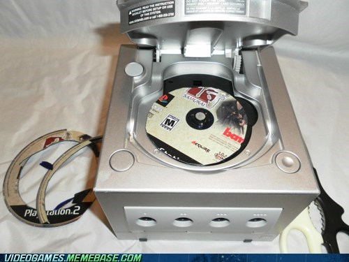 gamecube,IRL,lol,playstation,seems legit