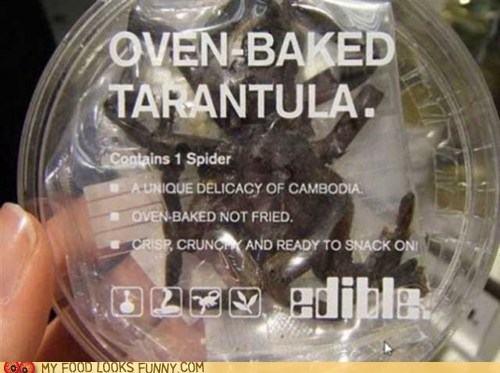 baked,best of the week,cambodia,snack,spider,tarantula