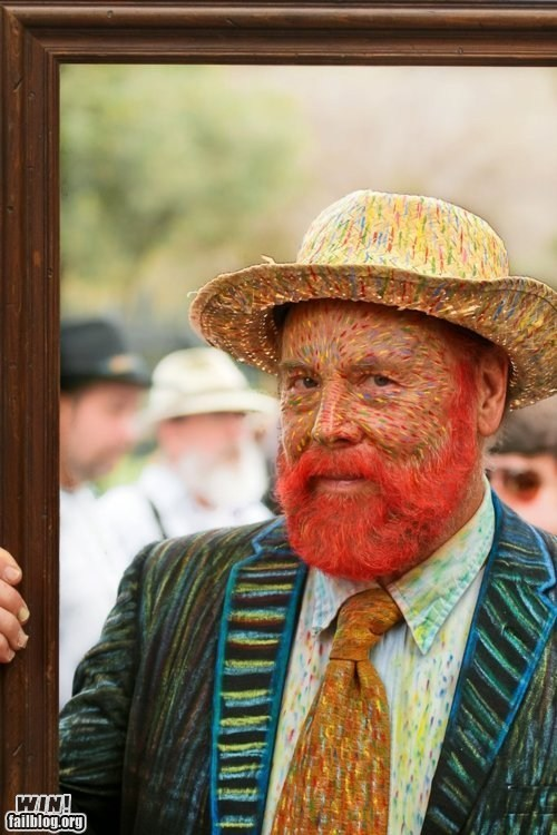 art,Carnival,clever,costume,design,impressionism,Party,Van Gogh