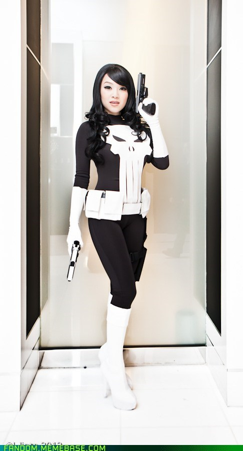 comics cosplay rule 63 the punisher - 5902845952