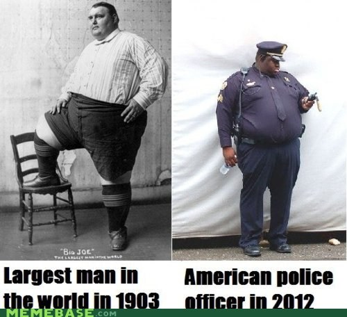 fat Memes police regular time