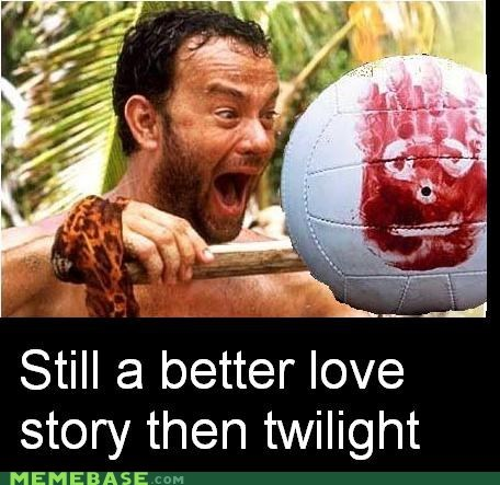 better castaway love story Memes twilight wilson - 5902957824