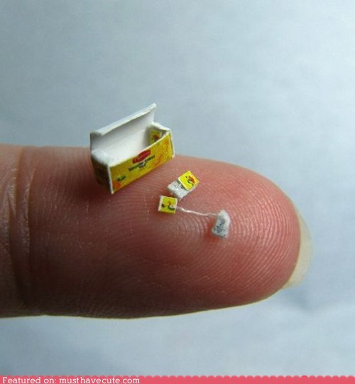 miniature miniscule teabag tiny - 5903160576