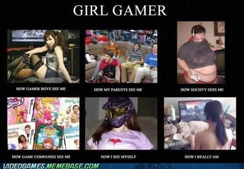 girl gamers meme - 5903164160