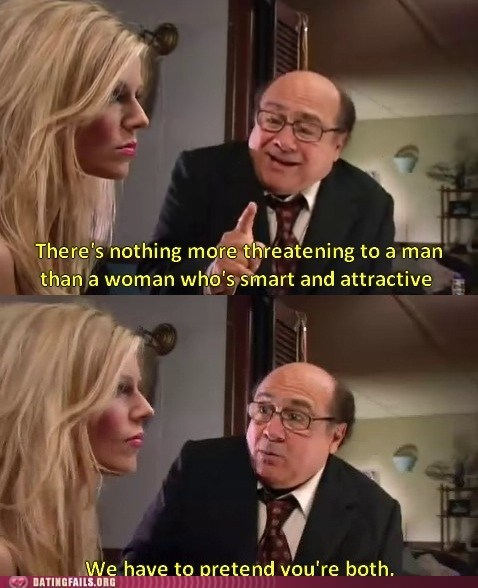 danny devito,its always sunny in philadelphia,smart and attractive