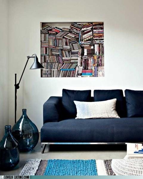 alcove bookcase books creative Square - 5903461120