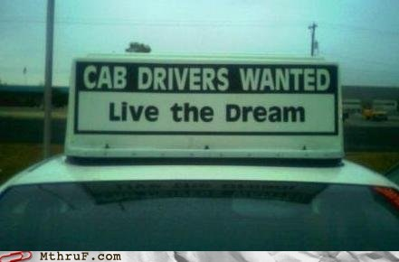 cab cab driver dream taxi - 5903496960