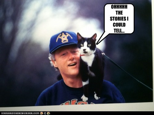 bill clinton lolwut stories strange - 5903577344