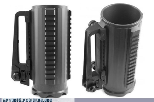 design,gun,mug,power goblet,sights