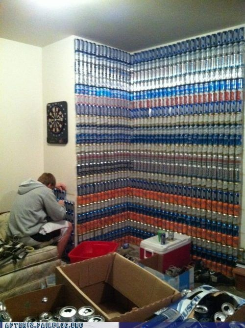beer beer can decorations DIY wall - 5903729408