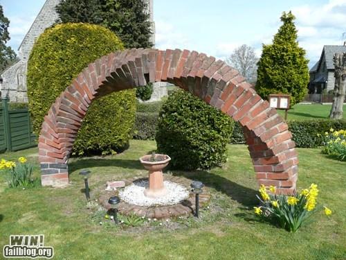 arch brick clever design garden - 5904153856