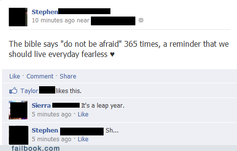 leap year,religion,touché