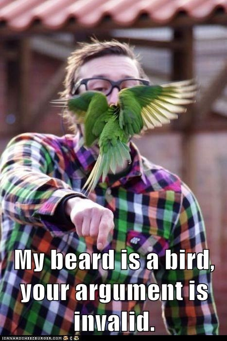 beard birds hipsterlulz ironic moustache