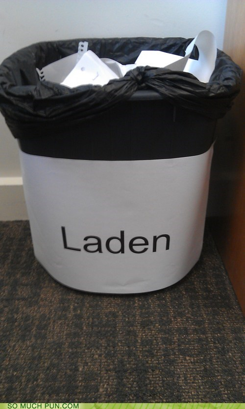 bin,double meaning,label,laden,literalism,Osama Bin Laden