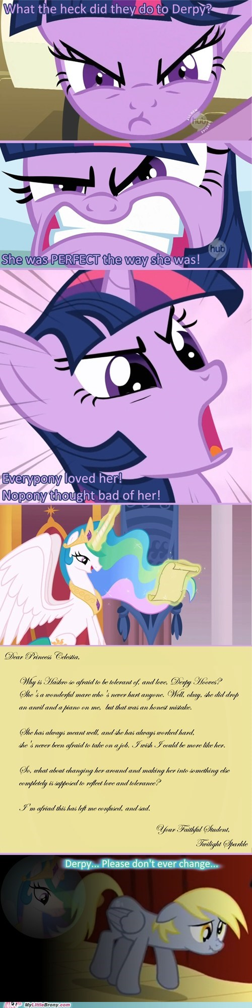Bronies celestia comics love and tolerate save derpy twilight sparkle - 5905305856
