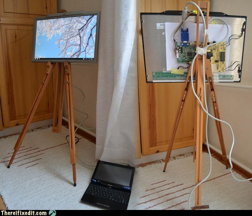 1080p art canvas easel HDTV - 5905478912