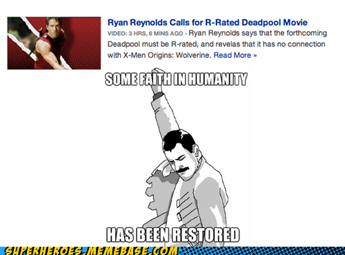 calls r rated ryan reynolds superheroes Super-Lols
