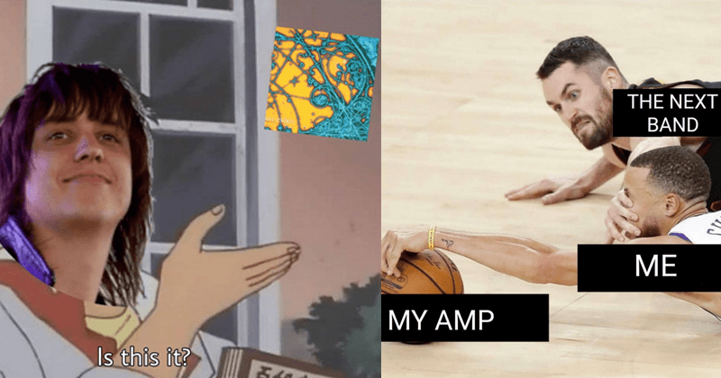 Funny band memes, bandmemes666, julian casablancas, father john misty, the strokes, playing shows.