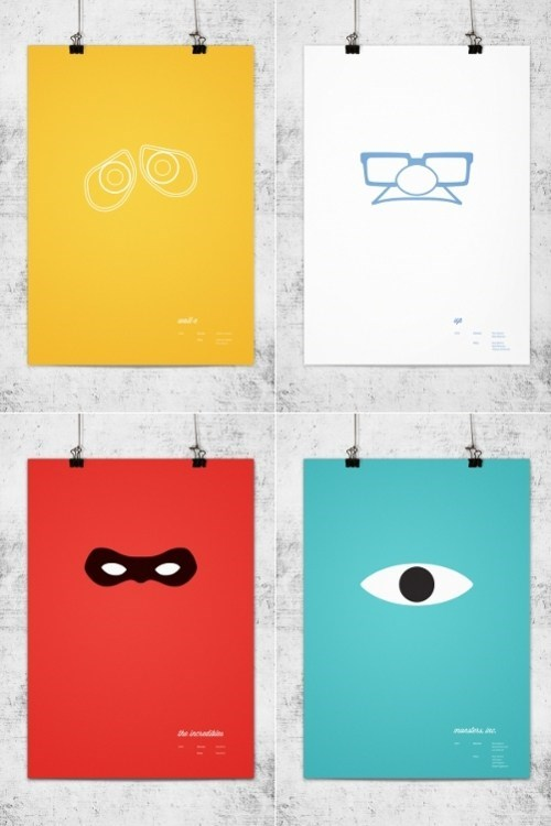 Minimalist Movie Posters pixar Wonchan Lee - 5905833472