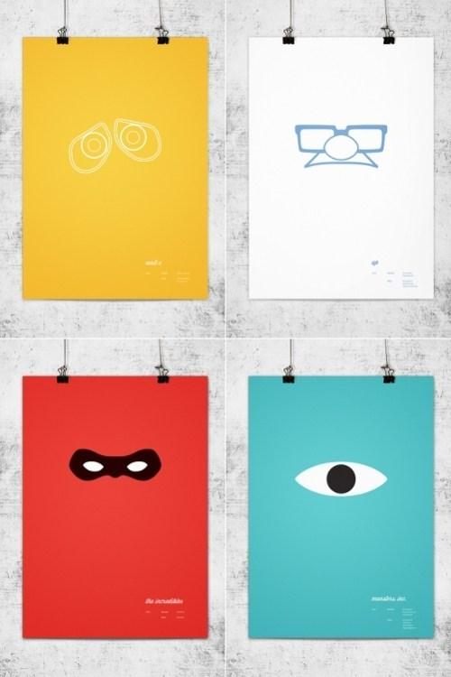 Minimalist Movie Posters pixar Wonchan Lee - 5905833472