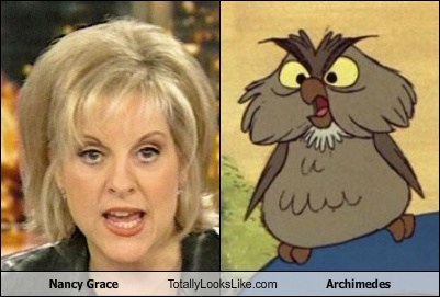 archimedes classic disney funny Hall of Fame Nancy Grace TLL