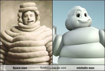 funny Michelin man space man TLL