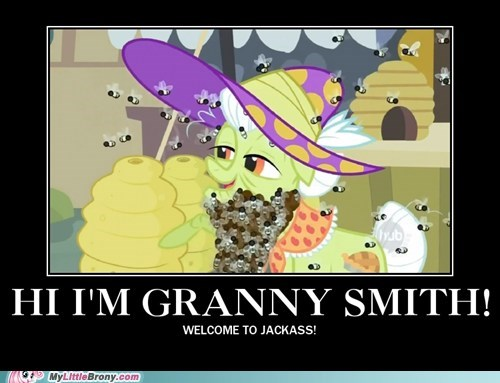 crossover,granny smith,jackass,TV