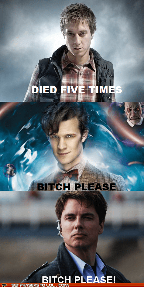 arthur darvill best of the week Captain Jack Harkness died doctor who Matt Smith rory williams the doctor - 5906205184