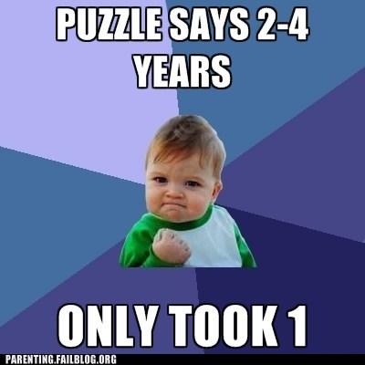 puzzles,success kid