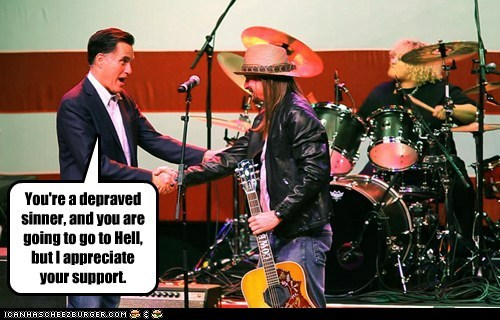 Kid Rock Mitt Romney political pictures Republicans - 5906635520
