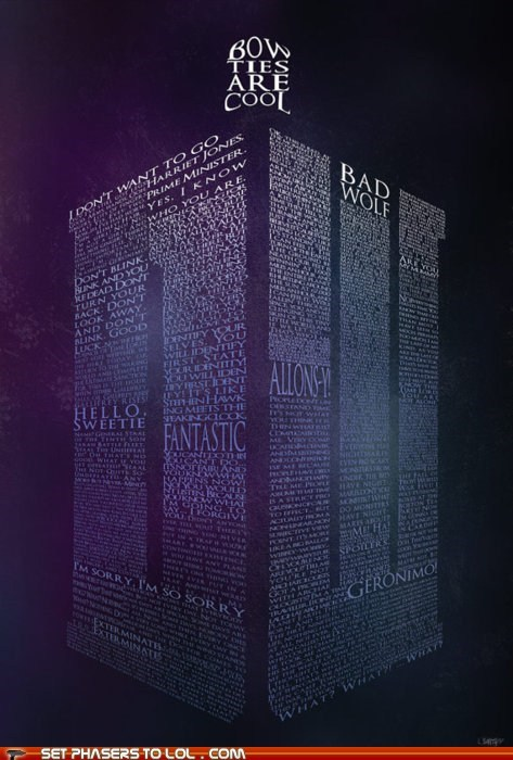 allonsy bad wolf best of the week doctor who fantastic quotes tardis the doctor what words - 5906727168