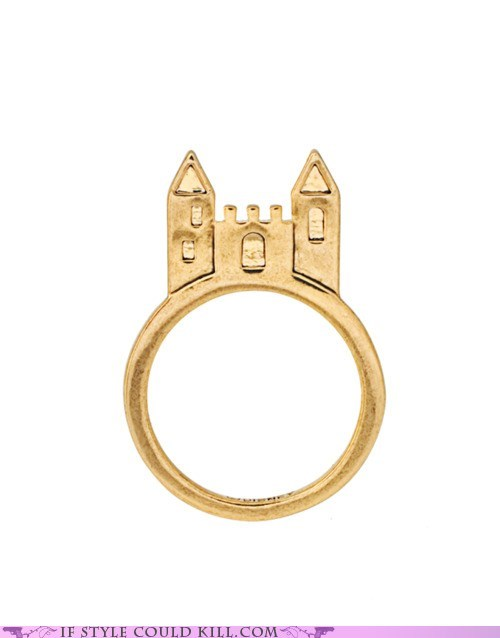 castles,cool accessories,ring of the day,rings